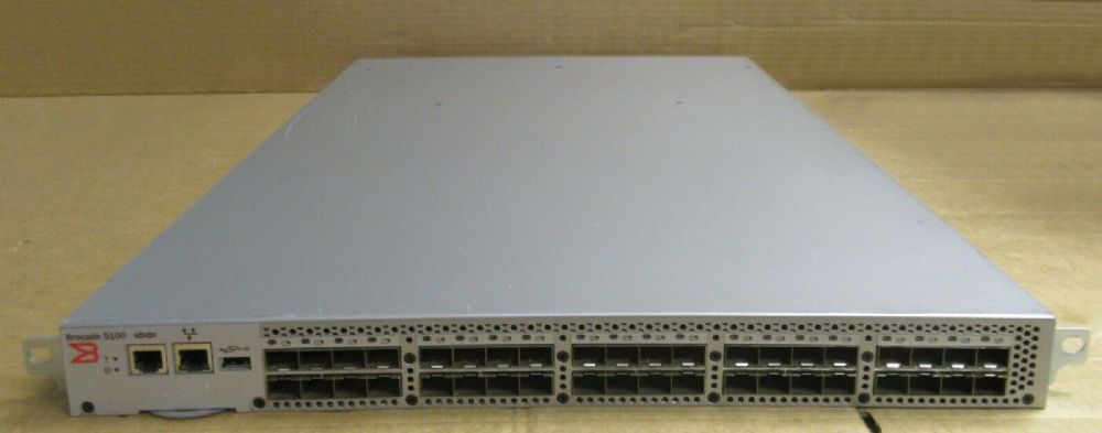 Brocade 5100 40-Port 24-Ports Active 8Gb FC SAN Switch + Licenses NA-5140-0008